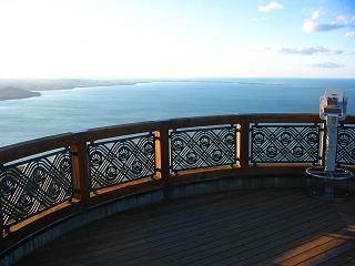 幌岩山「サロマ湖展望台」