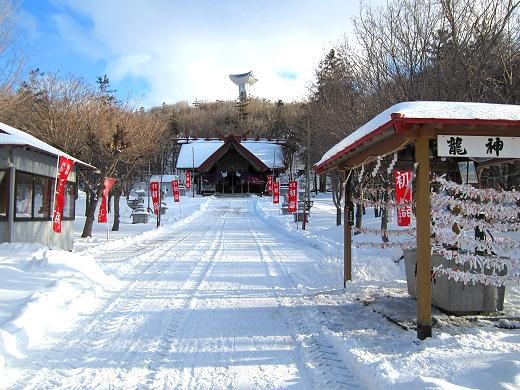 初詣の常呂神社 2019年1月7日