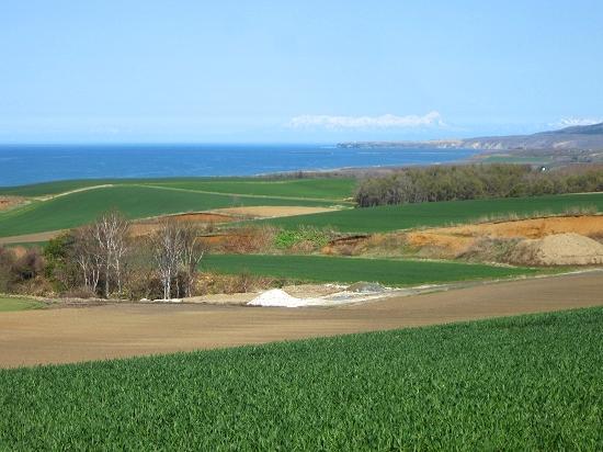 オホーツク海沿いの畑作地帯 北見市常呂町