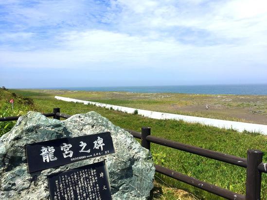 サロマ湖 龍宮台展望公園 三里浜キャンプ場 湧別町